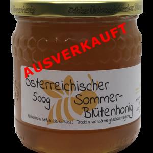 Österreichischer  Sommerblütenhonig 500g – intensiver, fruchtiger Geschmack (Kopie)